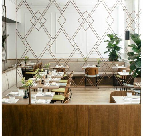 Restaurante Hermosos y Malditos gastronomía & coctelería en el Hotel Tótem de Madrid. Cocina de mercado, bodega y buen ambiente en el Barrio de Salamanca.