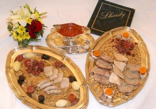 Cocido Madrileño Tradicional, Lhardy, Garbanzos, Sopa de Cocido, Soufle, Soufflé