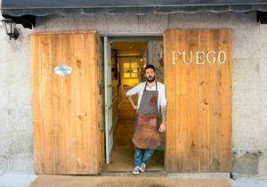 Gonzalo Hierro es un Chef muy creativo, posible estrella michelín.