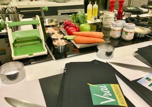 Receta, Cocina, Showcooking, Gastronomía, Queso, Ecológico, Vrai, Kitchen Club, Escuela de Cocina, Canelón de Pera