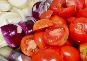 Receta de pisto con verduras y aceite virgen extra ecológicos