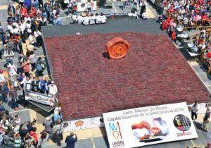 IGP Cecina de León, Cecina de León, World Guinness Record
