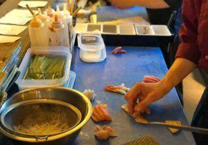 Diego Benito es el Chef del Restaurante de Gastronomía Japonesa Kabutokaji, ubicado en Pozuelo de Alarcón. Elabora una Cocina Japonesa de extremada calidad, cuidado en su técnica y toques de producto mediterráneo. Los platos más Top son Temaki de Carabinero, Ostras, Sashimi de Salmonete y Usuzukuri de Carabinero.