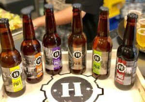 Cervezas Kristiansand-Salmón Ahumado Salvaje