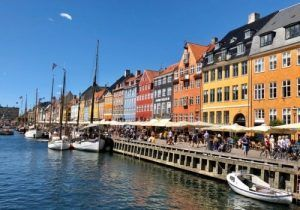 Copenhague Nyhavn-Salmón Ahumado Salvaje