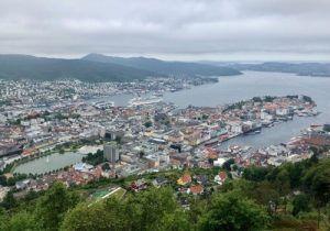 Fiordos Bergen Puerto-Salmón Ahumado Salvaje