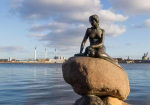 Copenhague Sirenita-Salmón Ahumado salvaje