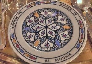 Restaurante-Marroquí-Al-Mounia-Vajilla