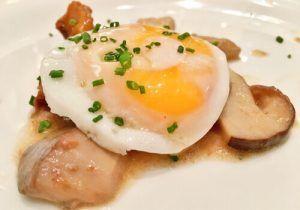 Restaurante-La-Paloma-Madrid-Setas-y-Huevo