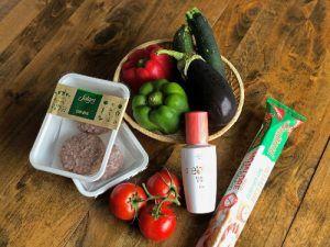 coca de verduras y carne de cerdo ecológico de salgot
