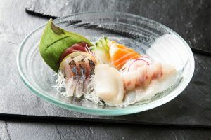 Mejores Restaurantes Japoneses de Madrid-Ikigai-Menú-del-día-Sashimi