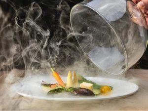 Miguel-Muñoz-Restaurante-Somni-Hotel-The-One-Barcelona-Parrillada-Verduras-Ahumadas