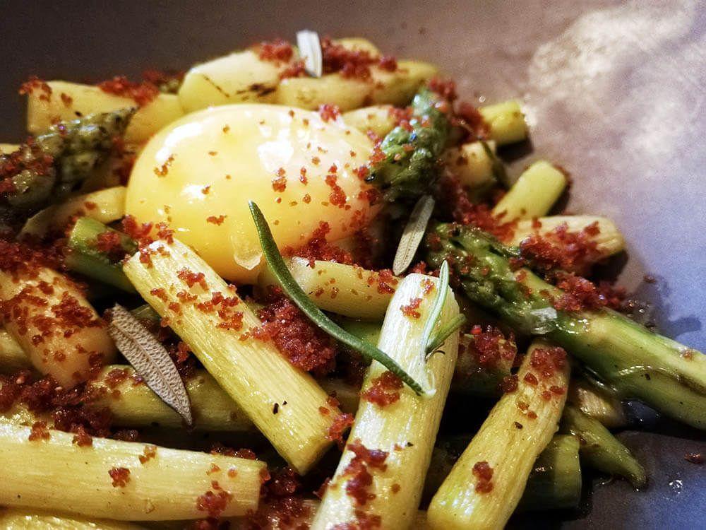 Mejores-Restaurantes-Saludables-Madrid-Mama-Campo-Trigueros-Yema-de-Huevo-Mazamorra