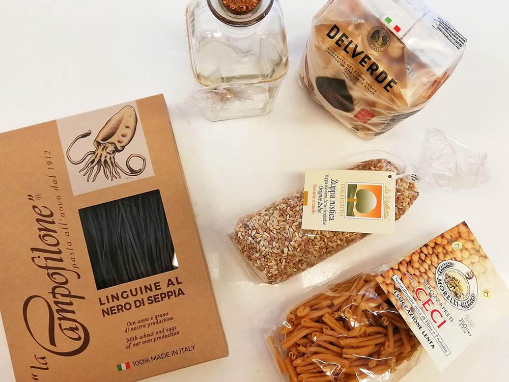 Mejores-Restaurantes-Italianos-Madrid-Accademia-del- Gusto-Productos