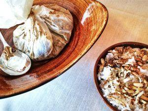 Mejores-Restaurantes-Saludables-Madrid-Levél-Veggie-Bistro-Papillot-de-Setas-Frescas-al-Horno