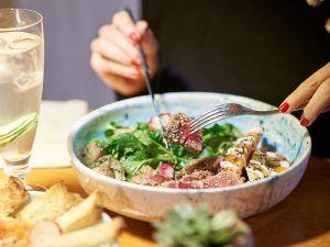 ensalada atún urban green-mejores saludables madrid
