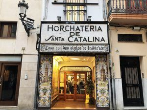 Valencia-Gastronomía-Horchatería-Santa-Catalina-Fachada
