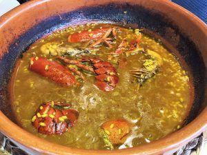 Valencia-Gastronomía-La-Alquería-de-la-Mar-Arroz-con-Bogavante