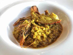 Valencia-Gastronomía-La-Alquería-de-la-Mar-Plato-Arroz-con-Bogavante