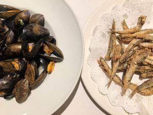Escapada-Gastronómica-Girona-Cau-del-Pescador-Mejillones-Boquerones