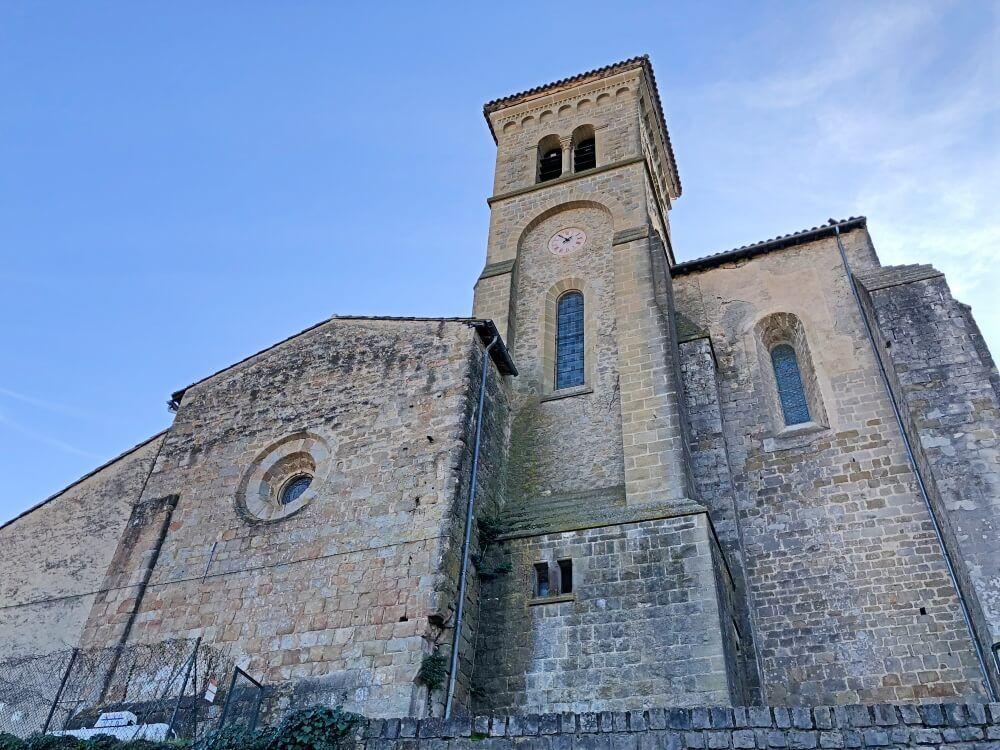 Gastronomía-Perpignan-Narbonne-Carcassonne-Abadía-Saint-Hilaire-Fachada