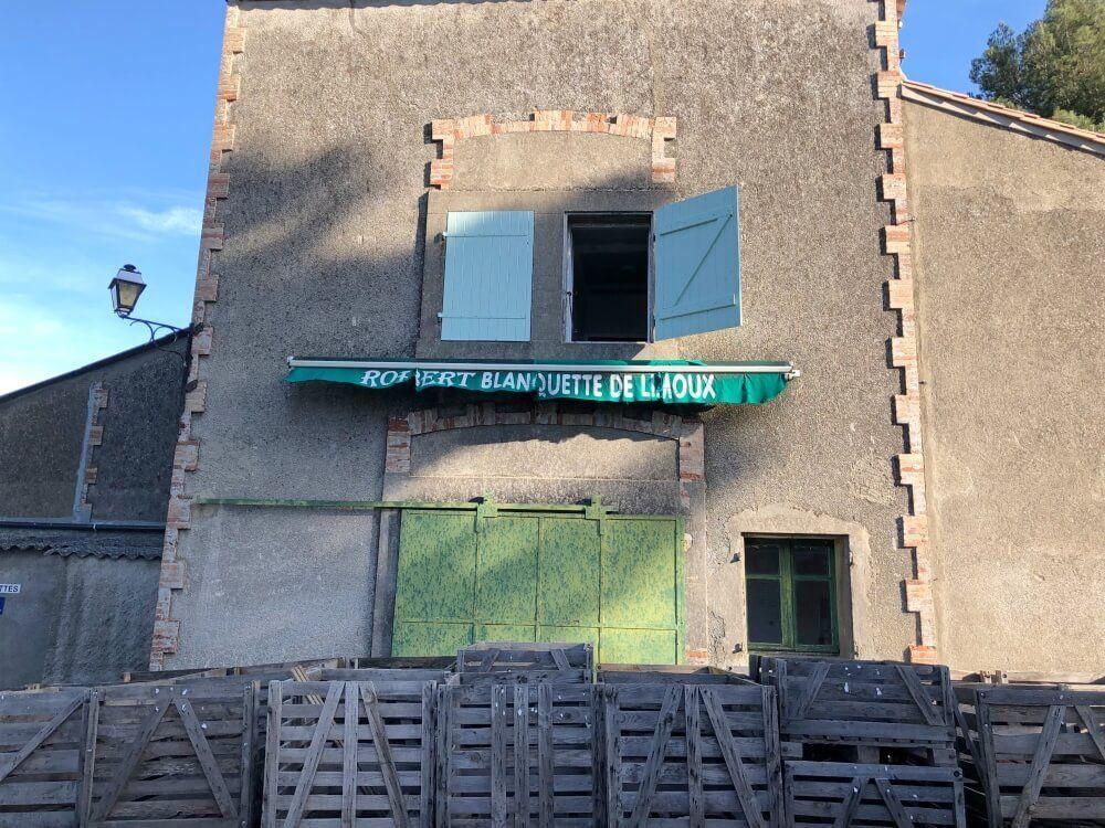 Gastronomía-Perpignan-Narbonne-Carcassonne-Bodega-Robert-de-Limoux-Fachada