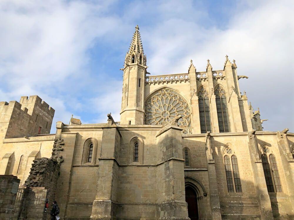 Gastronomía-Perpignan-Narbonne-Carcassonne-Catedral