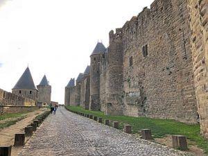 Gastronomía-Perpignan-Narbonne-Carcassonne-Hotel-Du-Chateau-Vistas-Muralla