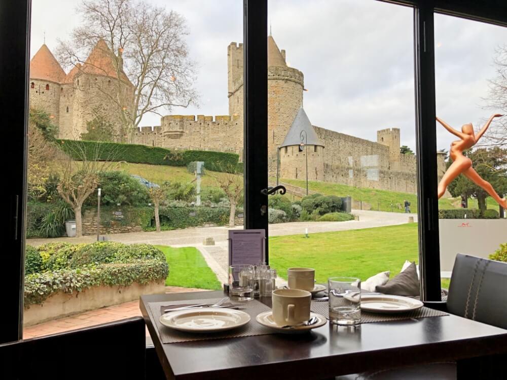 Gastronomía-Perpignan-Narbonne-Carcassonne-Hotel-Du-Chateau-Vistas