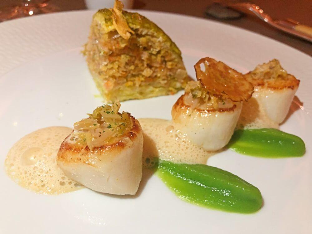Gastronomía-Perpignan-Narbonne-Carcassonne-Le-Parc-Franck-Putelat-Plato