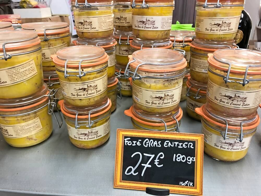 Gastronomía-Perpignan-Narbonne-Carcassonne-Tienda-Foie-Grass