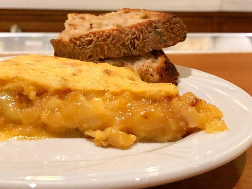 pincho tortilla de patatas Madrid Colósimo