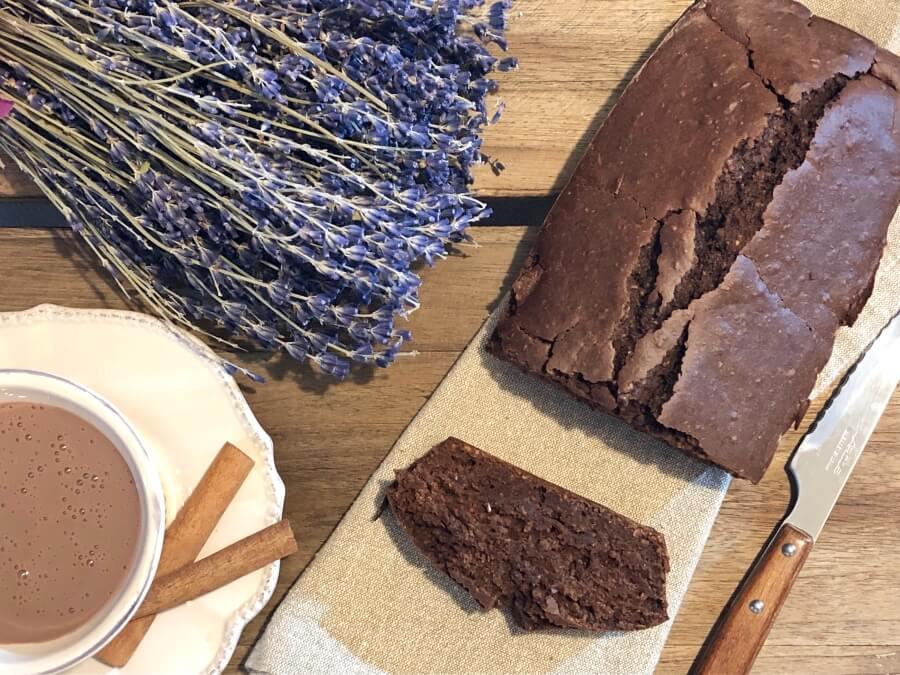 Bizcocho casero de chocolate