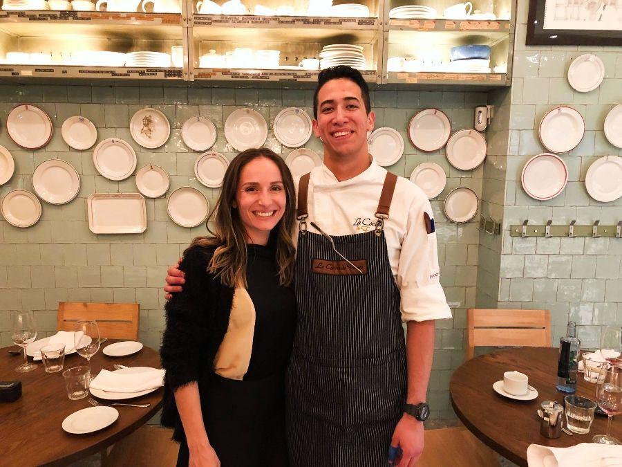 Chef Restaurante La Cocina de Frente