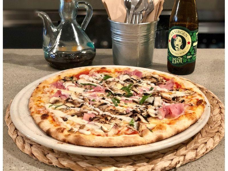 la mejor pizza de Madrid massart