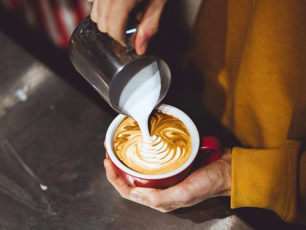 latte cafés de especialidad en Madrid