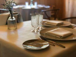 El local del restaurante A Barra en Madrid