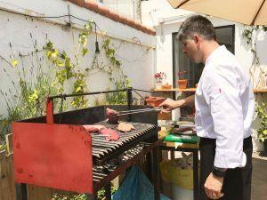 Ternera Gallega y Ternasco de Aragón IGP barbacoa de carne