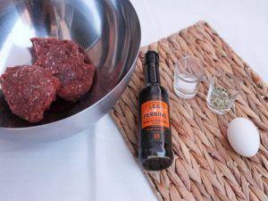 RECETA DE HAMBURGUESAS CASERAS CON CHAMPIÑONES ingredientes burguer
