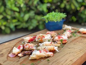 Alaska Seafood en Madrid menú degustación