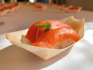 Salmón de Alaska Seafood en Madrid