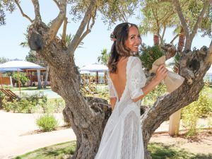 boda formentera vestido novia