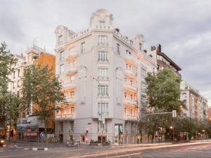El menú healthy del Hotel Heritage y su fachada