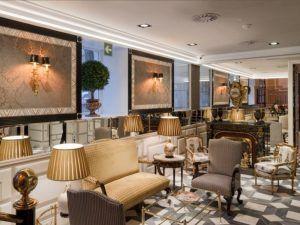 El lobby del Hotel Heritage en la presentación de su menú healthy
