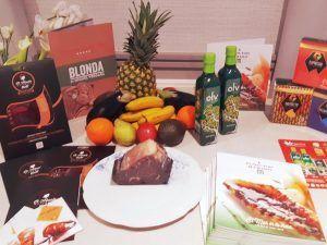 Productos del menú healthy del Hotel Heritage