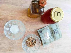 Ingredientes de la receta de pan de molde casero