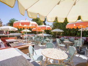 La decoración de La Terraza de Florida Retiro en Madrid