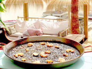El arroz del Chiringuito Carbones 13