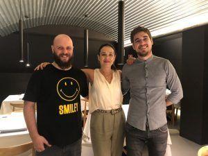 El equipo del restaurante Medea en Madrid