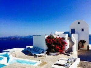 Hotel Apanemo en Santorini